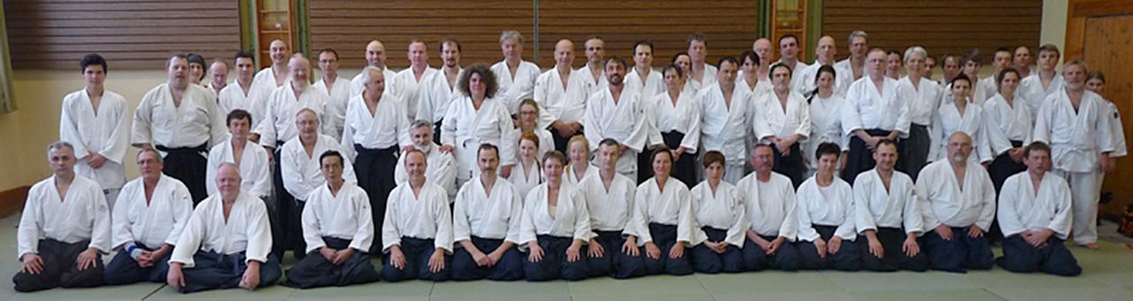 Die Teilnehmer des Jubiläumslehrganges 30 Jahre Aikido Wiesau
